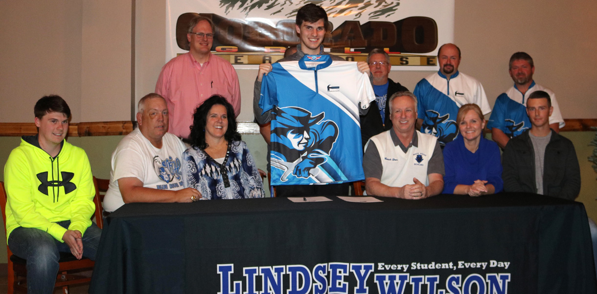 Photo for Men's Bowling signs Jonah Anderson for 2017-18 season