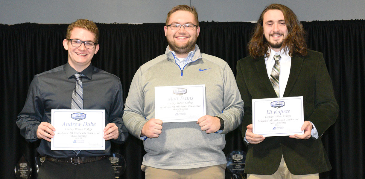 Photo for Five student-athletes earn MSC Men's Bowling Academic honors
