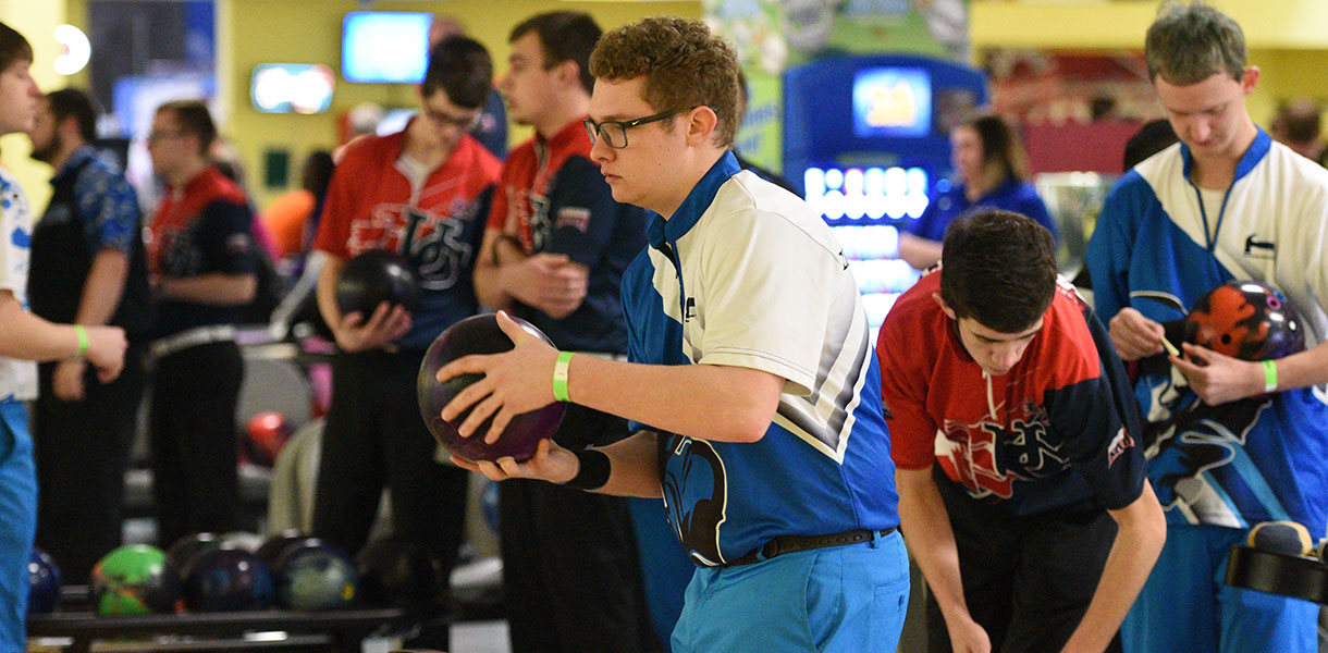 Photo for Men's Bowling wraps up singles and doubles competition at MSC Championships on Friday