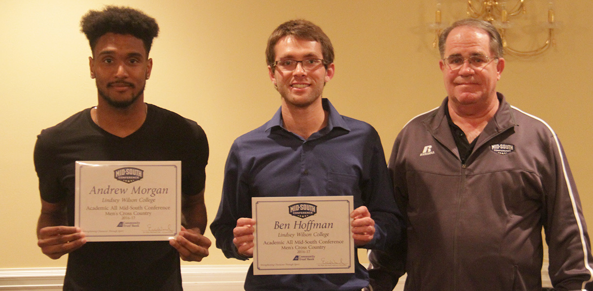 Photo for Morgan and Hoffman collect Men's Cross Country Academic MSC honors