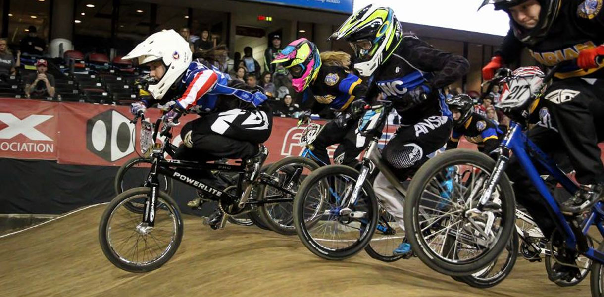 Photo for Bice wins twice at BMX Regionals