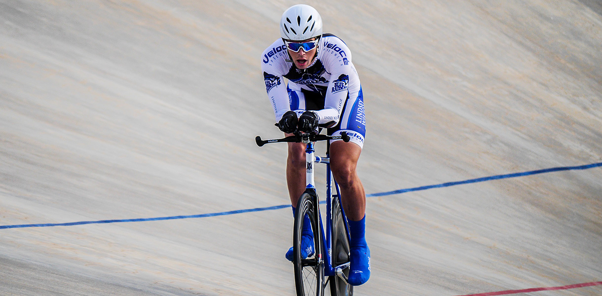 Photo for Cycling competes at Collegiate Track National Championships