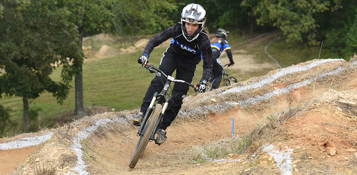 Photo for Sanders finishes as national runner-up in Dual Slalom on final day of Mountain Bike National Championships