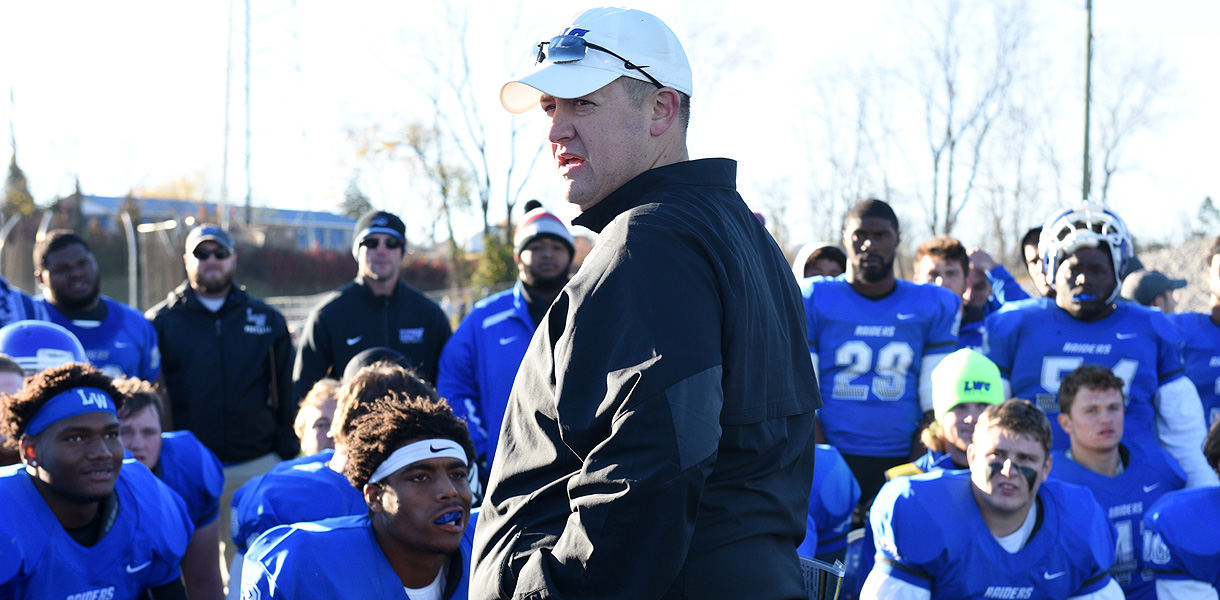 Photo for Oliver named 2016 AFCA NAIA Region 1 co-Coach of the Year