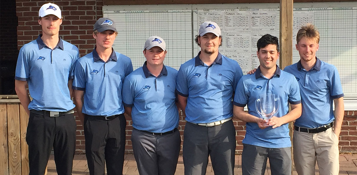 Photo for Men's Golf places first, Lind takes medalist honors at Mid-South Conference Spring Tournament