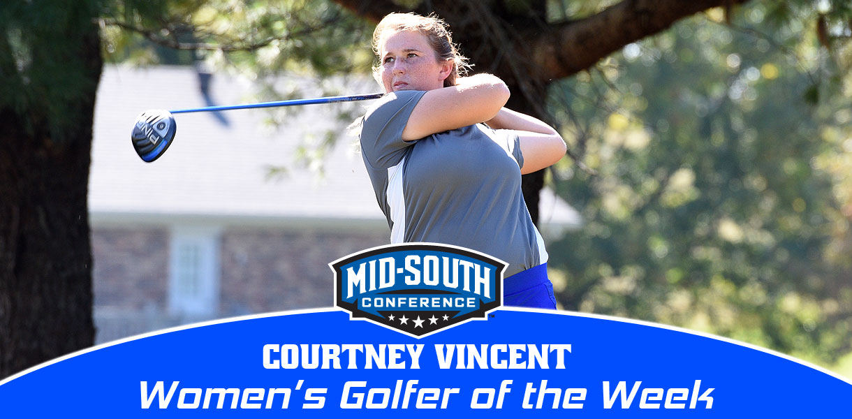 Photo for Vincent claims MSC Women's Golfer of the Week honors