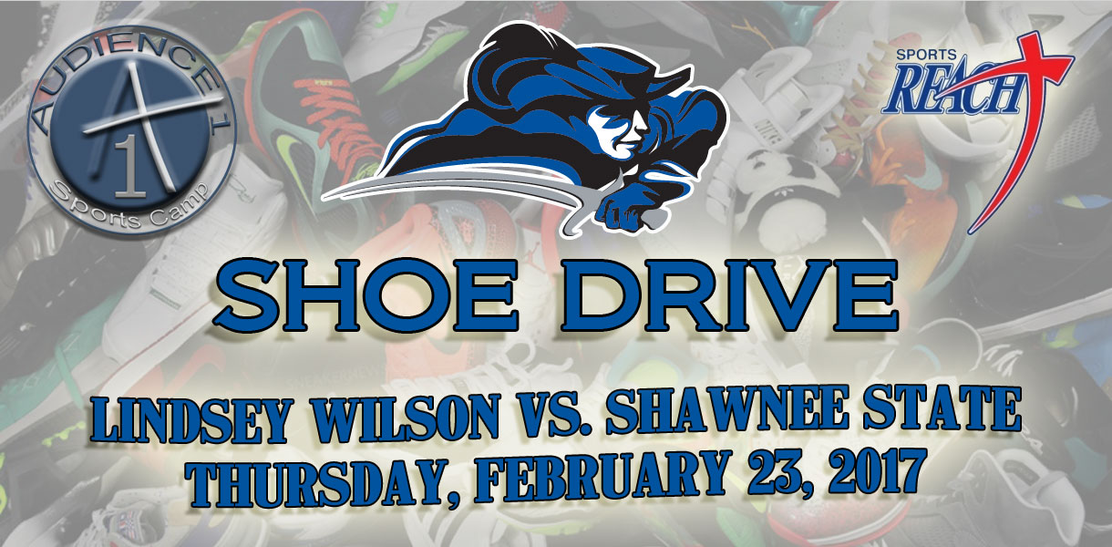 Photo for Lindsey Wilson Athletics hosts Shoe Drive during Thursday's basketball games against Shawnee State