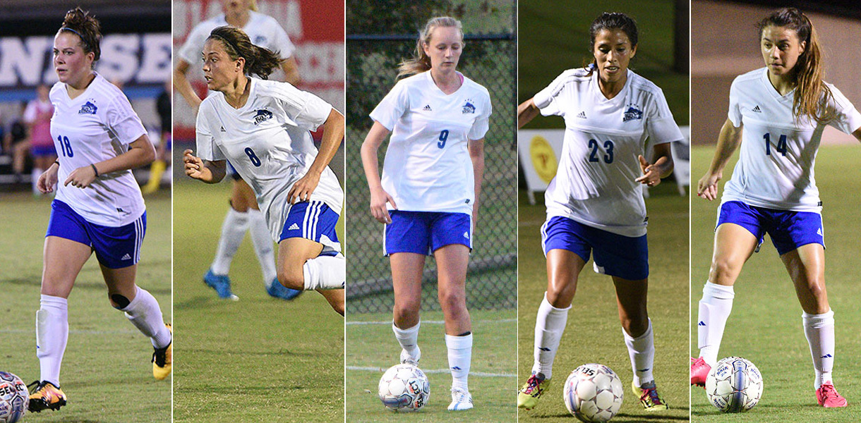 Photo for Five Women's Soccer players receive NAIA All-American honors