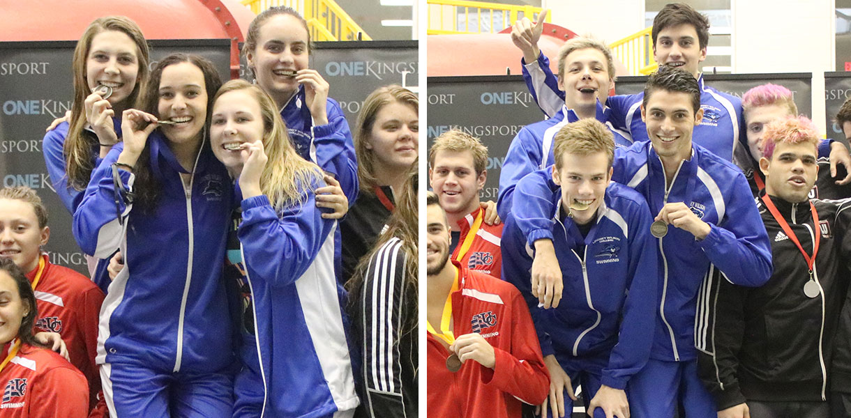 Photo for Strong showing for relay teams on first day of MSC Swim Championships
