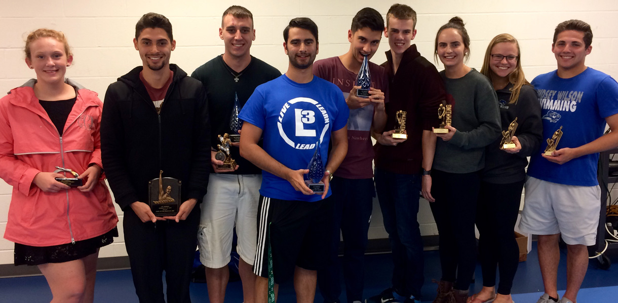 Photo for Swimming holds annual awards banquet