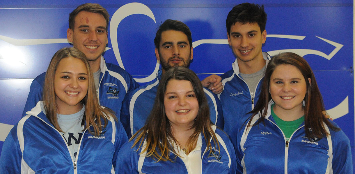 Photo for Men's and Women's Swimming defeat Bethel on Senior Day