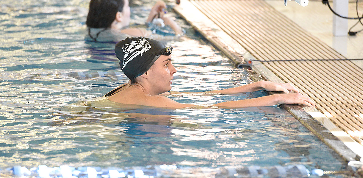 Photo for Women's Swimming earns six national cuts at Cumberlands