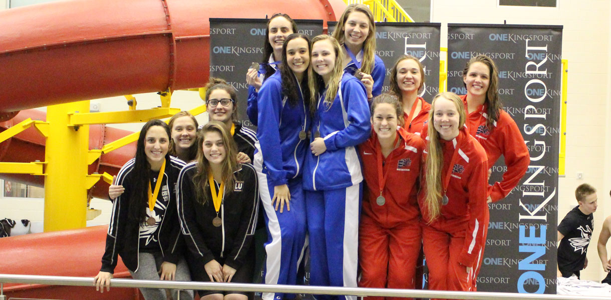 Photo for Women's Swimming ends runner-up at MSC Championship