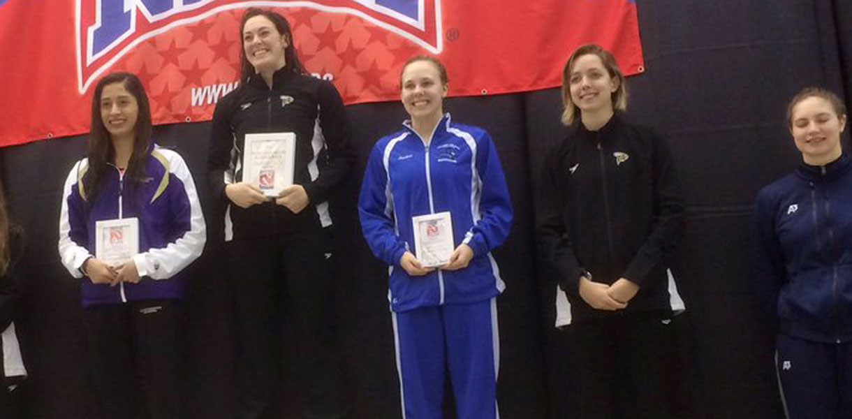 Photo for Borders claims second All-American honor; Women's Swimming finishes program-best fifth at NAIA National Championships