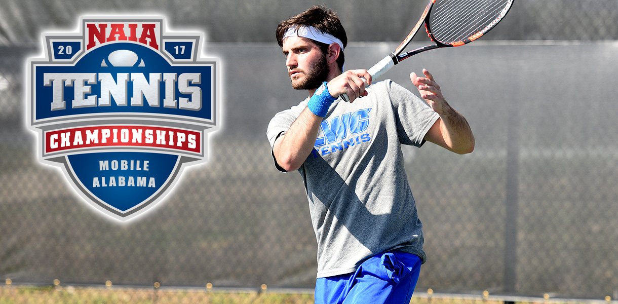 Photo for Men's Tennis begins play at the NAIA National Championship on Wednesday