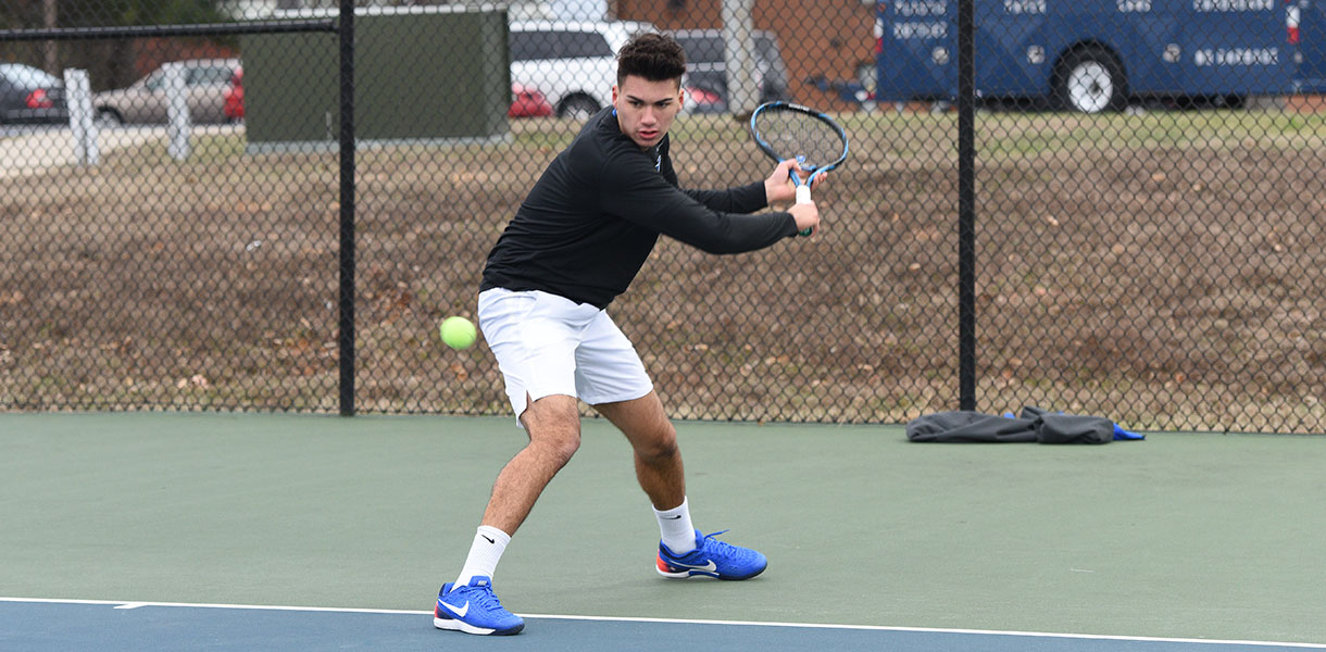 Photo for Men's Tennis down one spot to No. 5 in latest NAIA Coaches' Poll