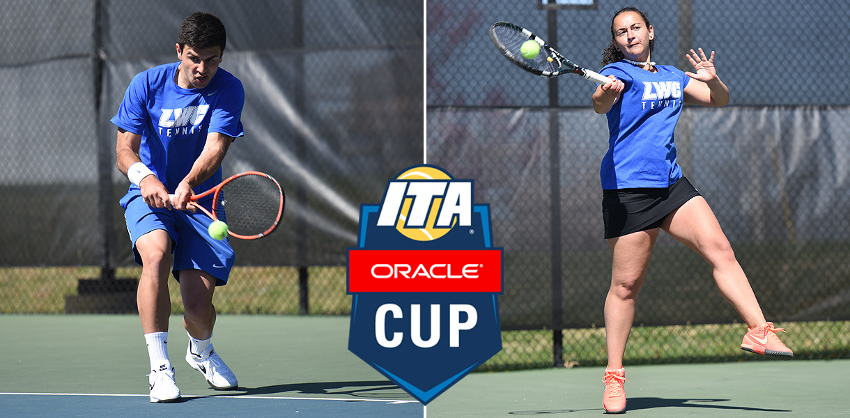 Photo for Tennis quartet begins competition at ITA Oracle Cup on Thursday