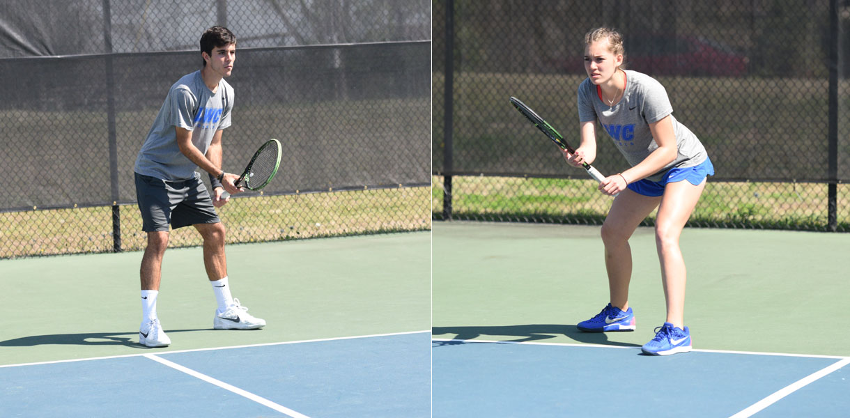 Photo for Four Tennis players reach title matches at ITA Regionals on Sunday