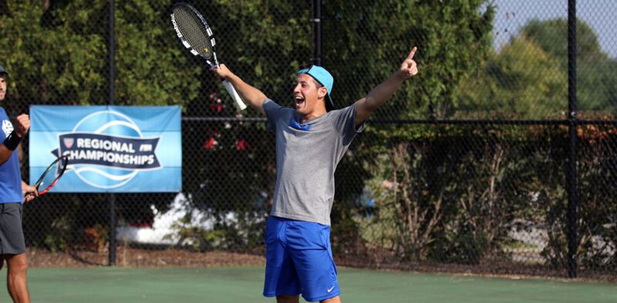 Photo for Men�s Tennis sweeps ITA Southeast Region titles