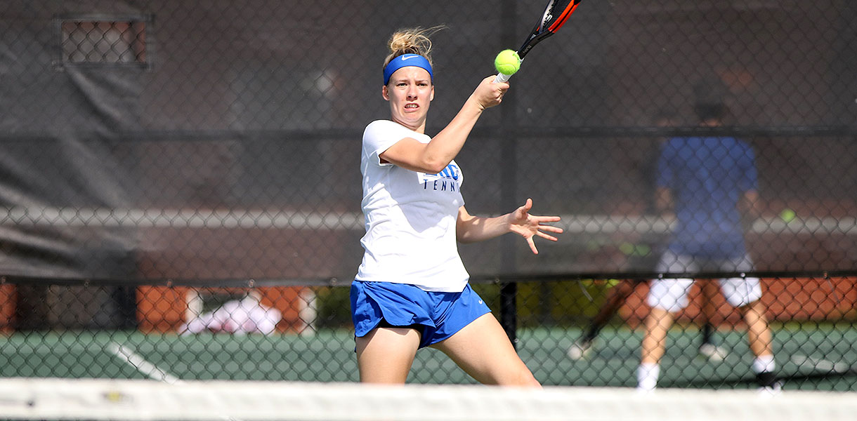 Photo for Women's Tennis sweeps Campbellsville 9-0 on Saturday