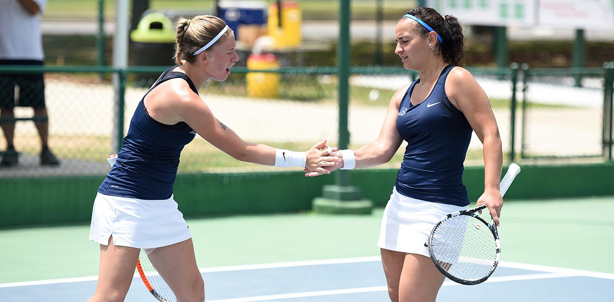 Photo for Women's Tennis advances to NAIA National Championship match after downing William Woods 5-0 in semifinals