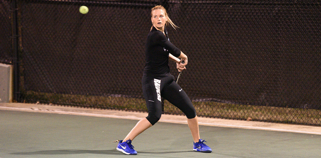 Photo for Women's Tennis downs Northwestern Ohio 5-3 on Friday