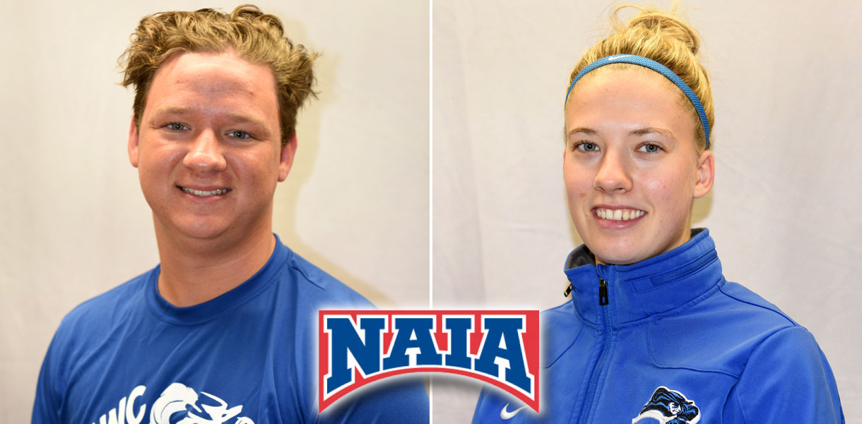 Photo for Montgomery and Curty earn NAIA Tennis Scholar-Athlete honors