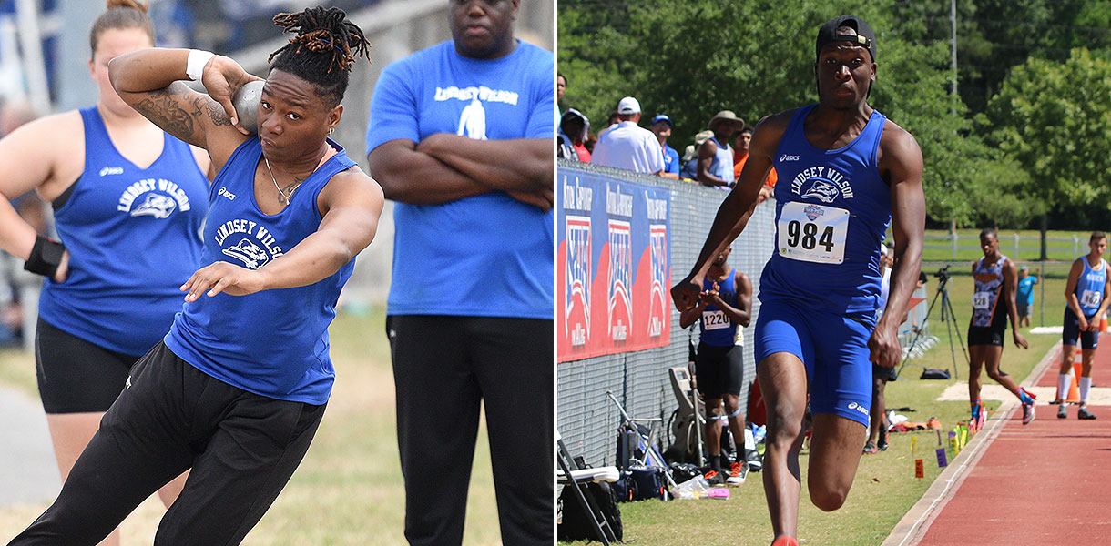 Photo for Roberts and Mosheleketi finish as national runner-ups on day two of NAIA Track & Field Championships