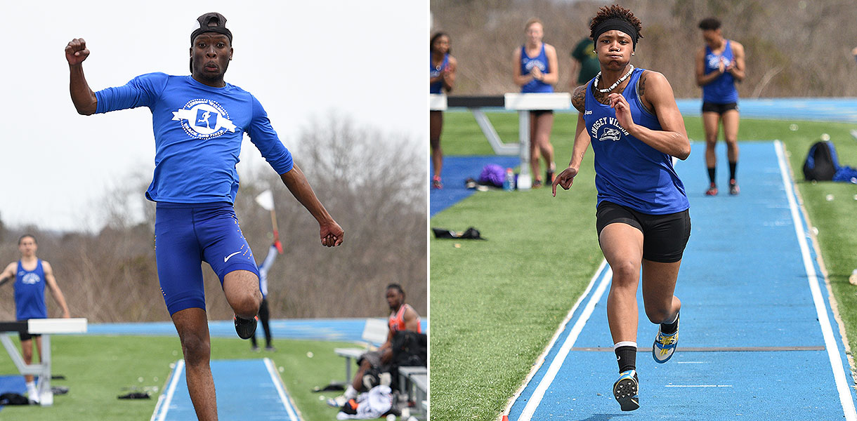 Photo for Women's Track leads, Men's Track second at MSC Championships following competition on Friday