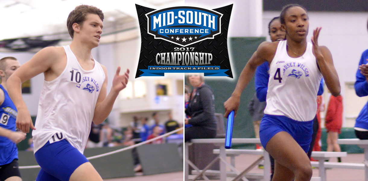 Photo for Men's and Women's Indoor Track & Field competes at MSC Championships this Saturday