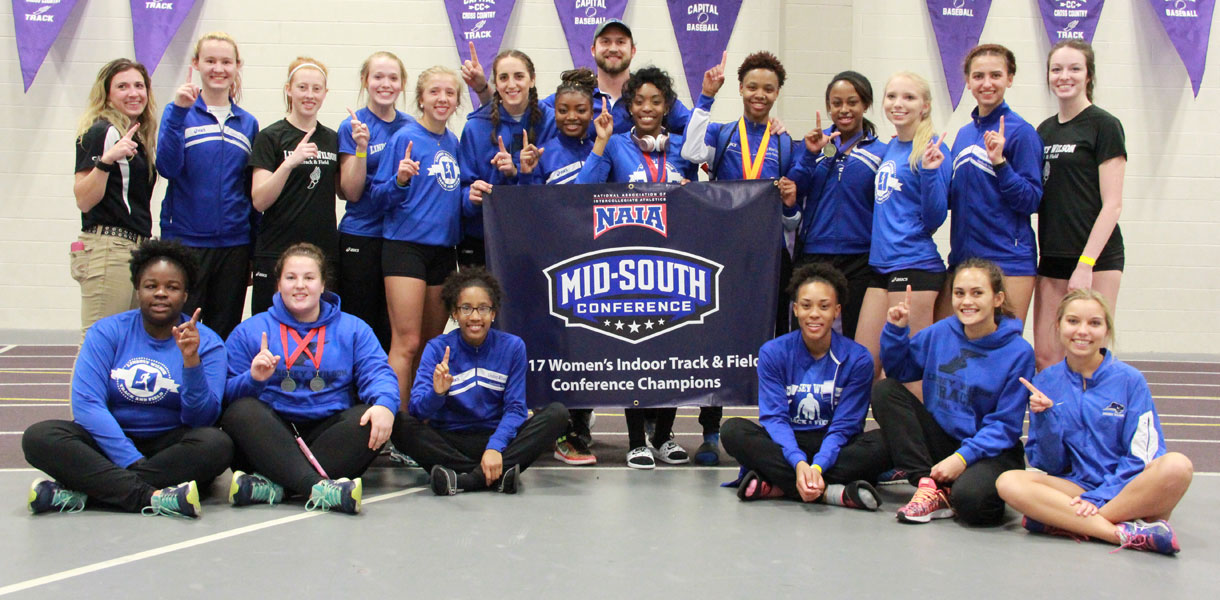 Photo for Women's Indoor Track & Field claims inaugural MSC Championships