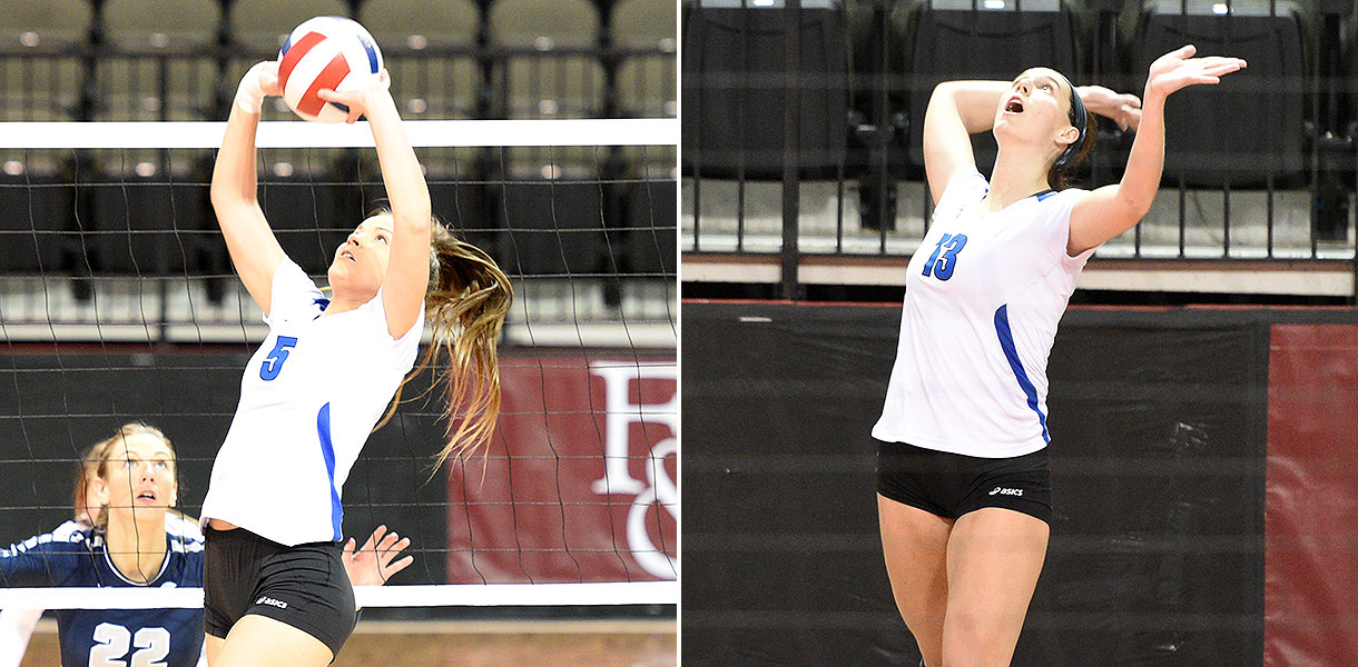 Photo for Montano and Burke highlight AVCA Southeast Region Awards list