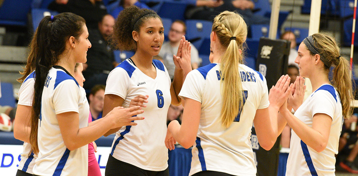 Photo for No. 5 Volleyball faces Bryan Friday, St. Thomas on Saturday