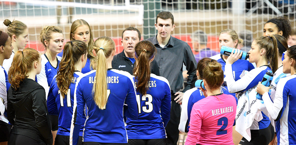 Photo for Volleyball drops one spot to No. 5 in Tachikara-NAIA Volleyball Postseason Coaches Top 25