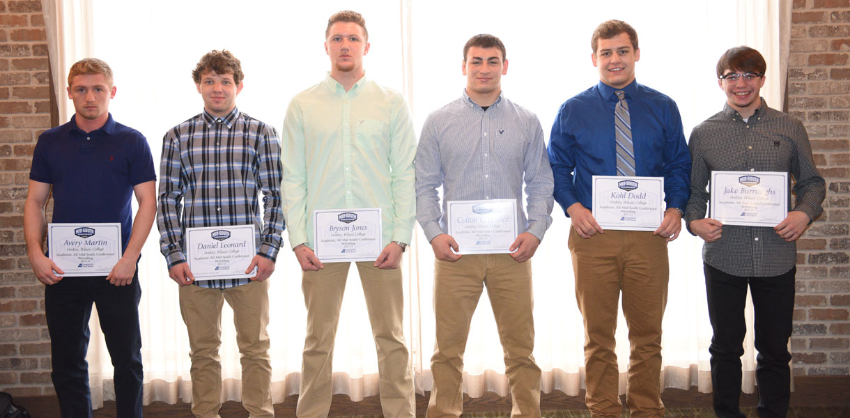 Photo for Six Blue Raider grapplers earn MSC Wrestling Academic honors