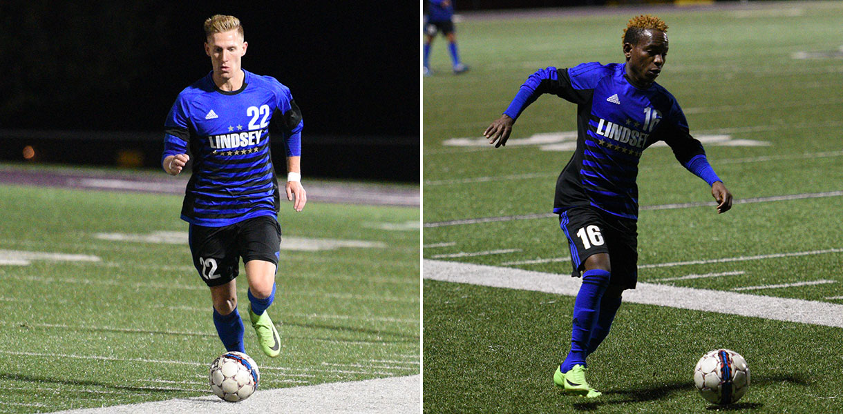 Photo for Collishaw and Mwape earn NAIA Men's Soccer All-American Honors