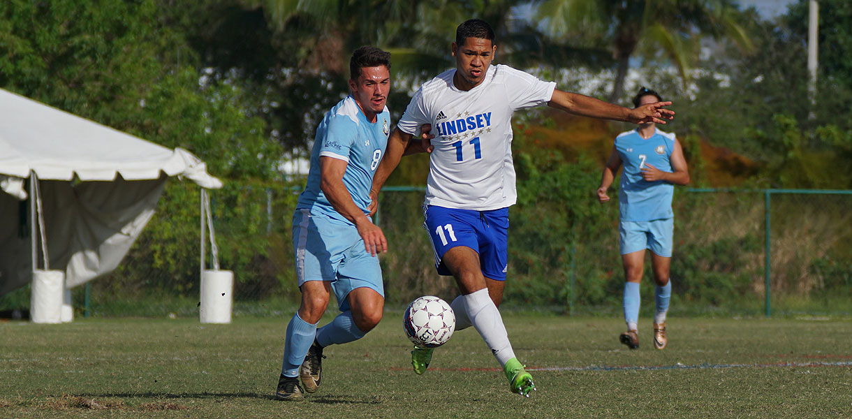 Photo for Men's soccer falls to Marymount at the NAIA National Tournament