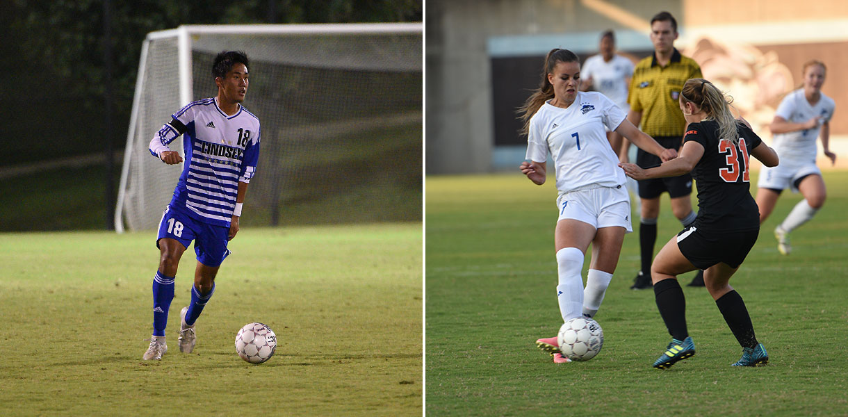 Photo for Men and Women's Soccer travels to Life on Tuesday