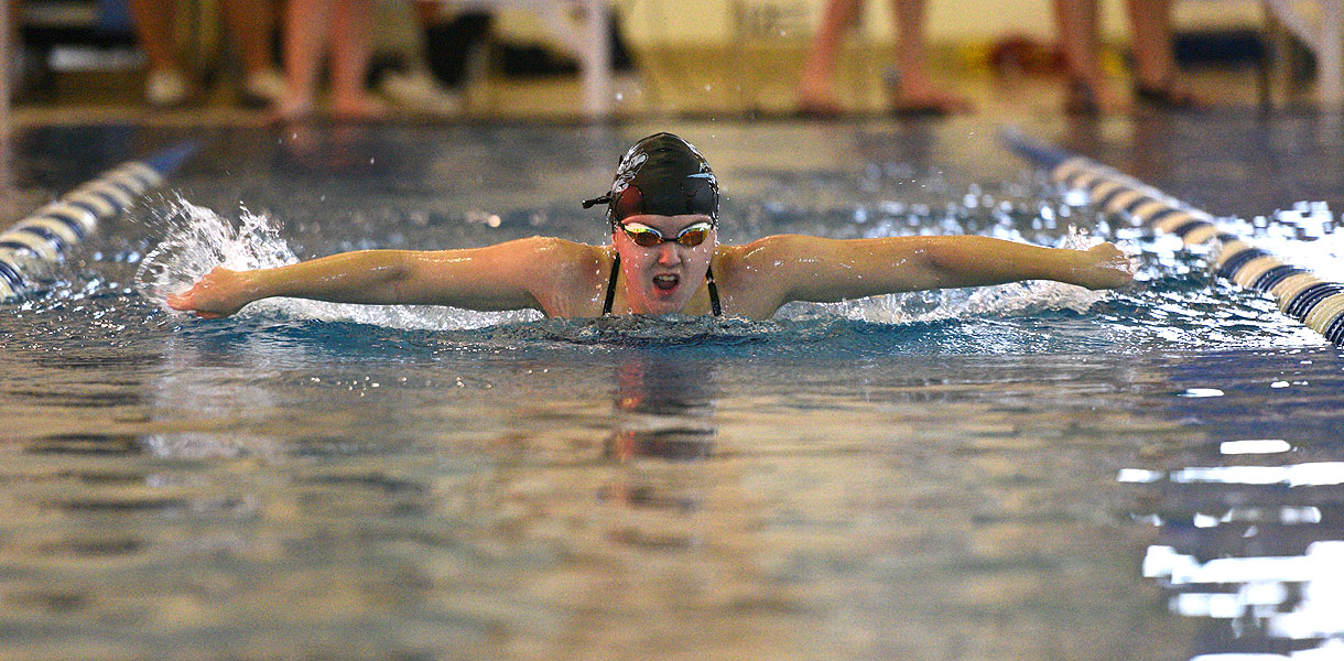 Photo for Women's Swimming finishes third at LWC Fall Frenzy