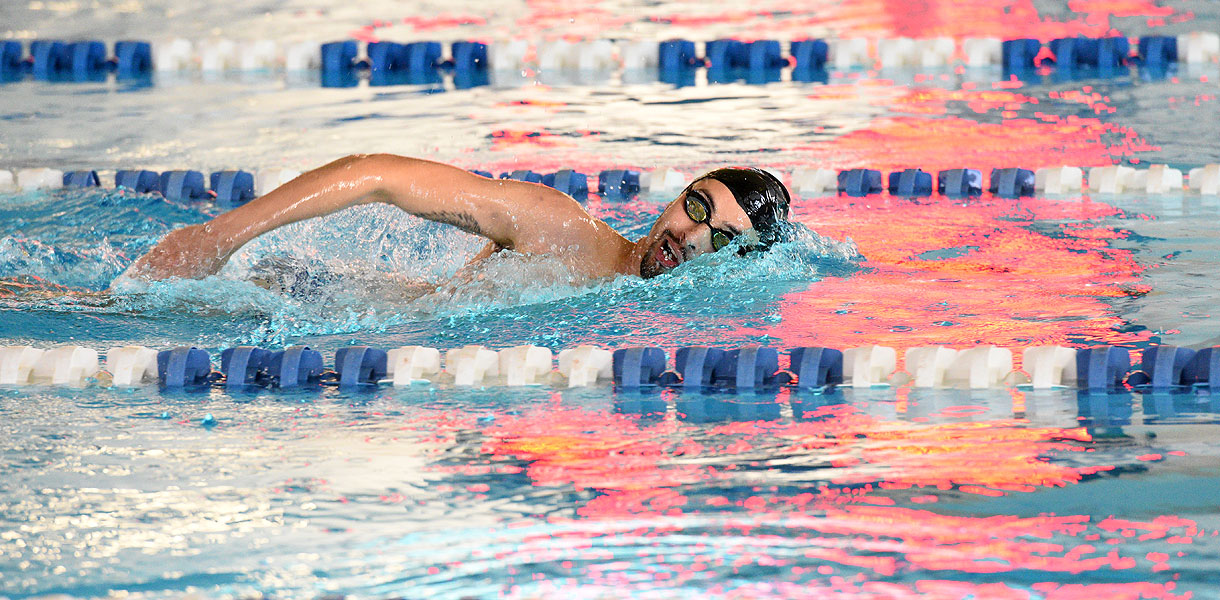 Photo for Men's Swimming captures second-place finish at LWC Fall Frenzy