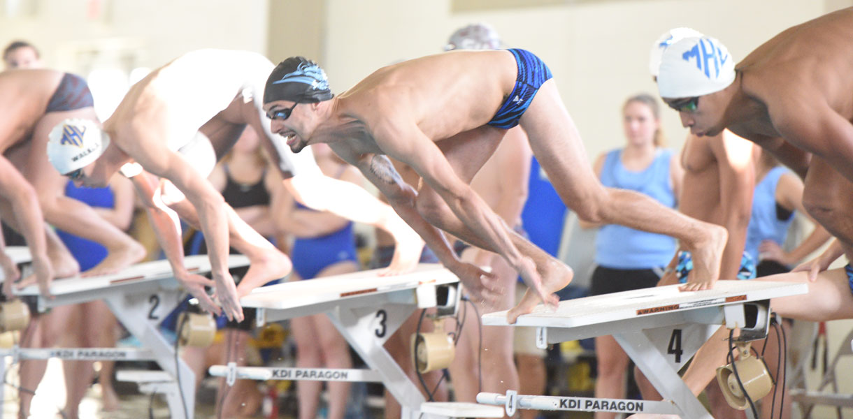 Photo for Men's Swimming competes at Cumberlands on Saturday