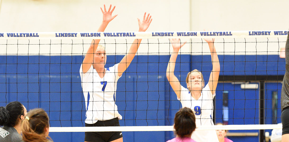 Photo for Volleyball sweeps Cumberlands for second time this season 3-0 Wednesday night