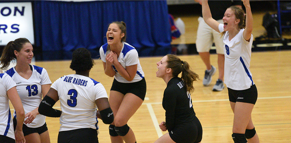 Photo for Volleyball takes over No. 1 spot in latest NAIA Women's Top-25 Coaches' Poll
